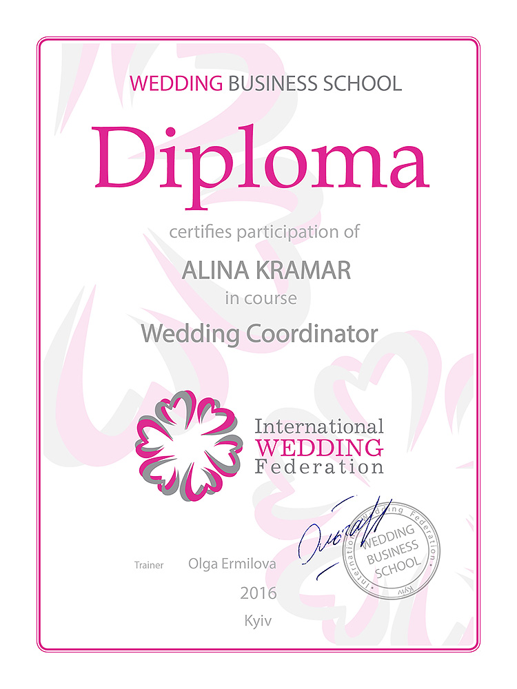 Diplom Eventmoderatorin 1